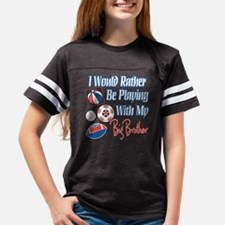 Playing With Big Brother Youth Football Shirt