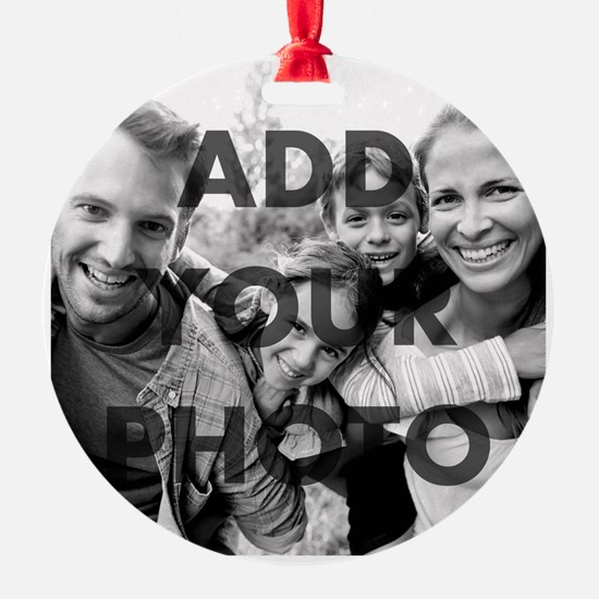 Add Your Own Photo Ornament