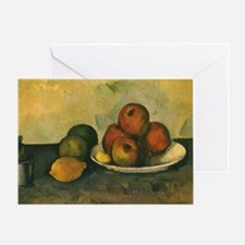 Still Life with Apples by Cezanne Greeting Card
