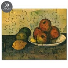 Still Life with Apples by Cezanne Puzzle