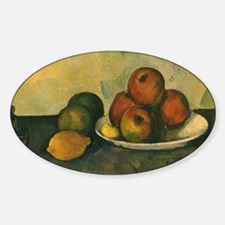 Still Life with Apples by Cezanne Decal