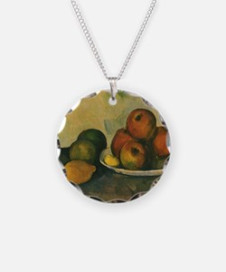 Still Life with Apples by Ce Necklace