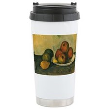 Still Life with Apples by Cezan Travel Mug