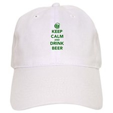 Keep calm and drink beer St. Patricks day Baseball Baseball Cap