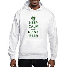 Keep calm and drink beer St. Patricks day Hoodie