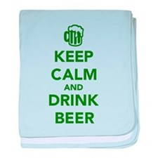 Keep calm and drink beer St. Patricks day baby bla