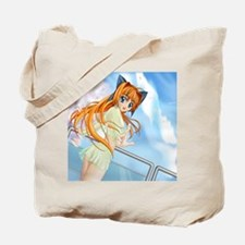 Anime Girl ecchi 60x60 Tote Bag