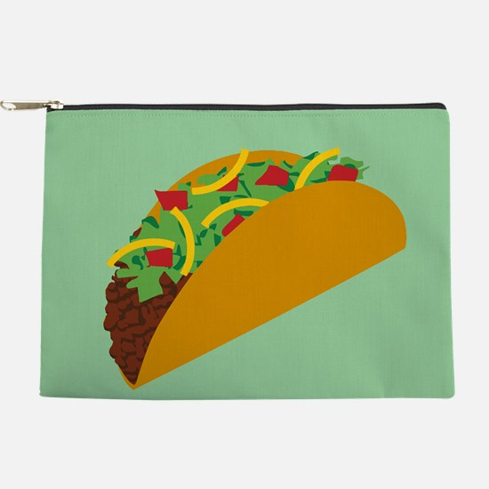 Taco Graphic Makeup Pouch