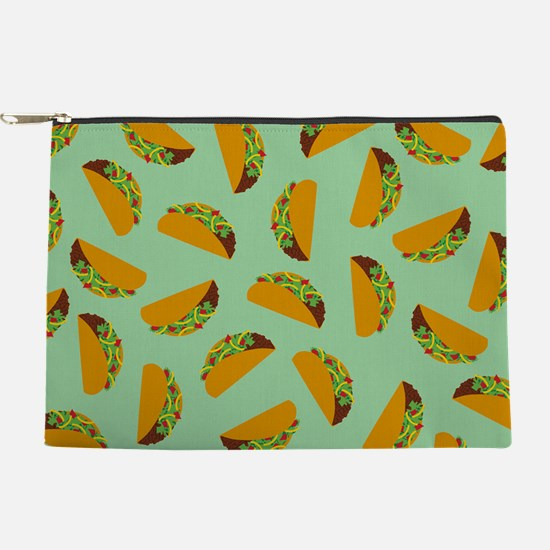 Taco Pattern Makeup Pouch