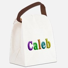Caleb Shiny Colors Canvas Lunch Bag