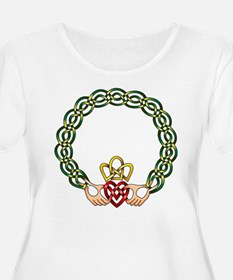 Claddagh Goddess Proportioned T-Shirt