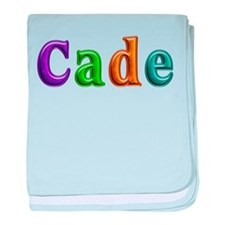 Cade Shiny Colors baby blanket