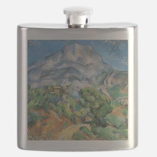 Cezanne Mont Sainte Victoire Flask