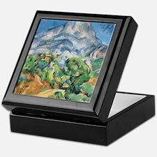Cezanne Mont Sainte Victoire Keepsake Box