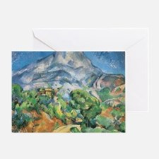 Cezanne Mont Sainte Victoire Greeting Card