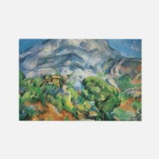 Cezanne Mont Sainte Victoire Rectangle Magnet