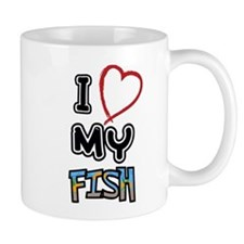 I love my fish Mugs