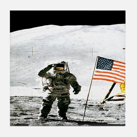 Apollo fiveteen Lunar Module Pilot moon explore 6