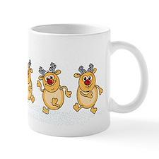 Dancing Reindeers Mugs