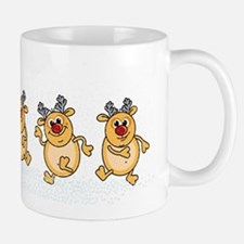 Dancing Reindeers Mugs