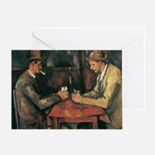 Cezanne The Card Players Greeting Card
