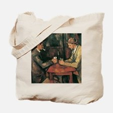 Cezanne The Card Players Tote Bag