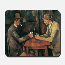 Cezanne The Card Players Mousepad