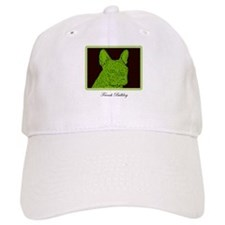 French Bulldog Rec (Green) Baseball Baseball Cap