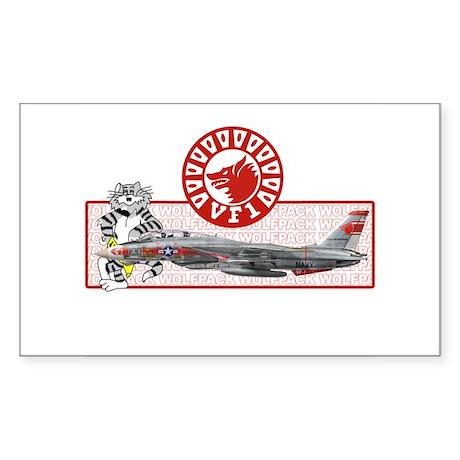 VF-1 Wolfpack Rectangle Sticker