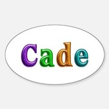 Cade Shiny Colors Oval Decal