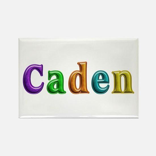 Caden Shiny Colors Rectangle Magnet