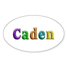Caden Shiny Colors Oval Decal