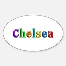 Chelsea Shiny Colors Oval Decal