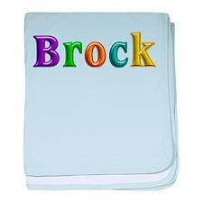 Brock Shiny Colors baby blanket