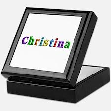 Christina Shiny Colors Keepsake Box