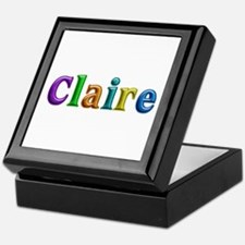 Claire Shiny Colors Keepsake Box