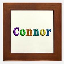 Connor Shiny Colors Framed Tile