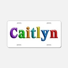 Caitlyn Shiny Colors Aluminum License Plate