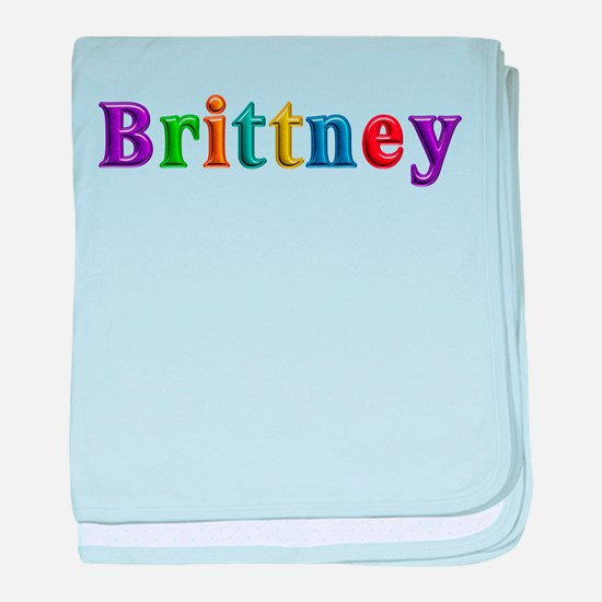 Brittney Shiny Colors baby blanket