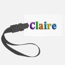 Claire Shiny Colors Luggage Tag