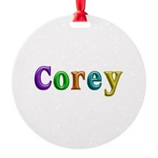 Corey Shiny Colors Ornament