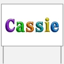 Cassie Shiny Colors Yard Sign