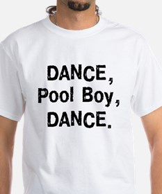 ExpressionWear Dance Pool Boy White T-shirt
