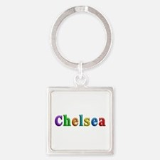 Chelsea Shiny Colors Square Keychain