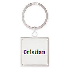 Cristian Shiny Colors Square Keychain