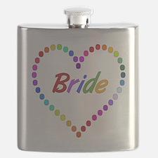 Rainbow Bride Flask