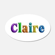 Claire Shiny Colors Wall Decal