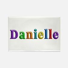 Danielle Shiny Colors Rectangle Magnet