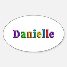 Danielle Shiny Colors Oval Decal