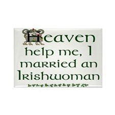 I Married An Irishwoman Magnets (10 pack)